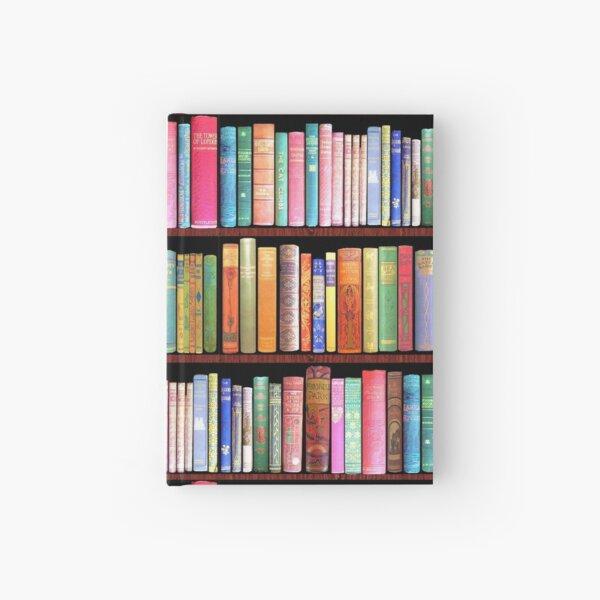 Bookworm Antique books Hardcover Journal
