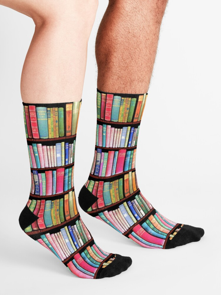 Alternate view of Bookworm Antique books Socks