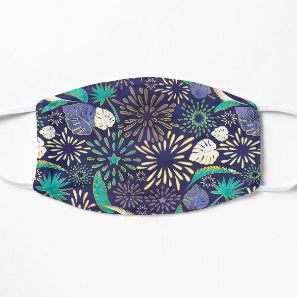 Tropical fireworks Flat Mask