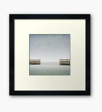 Greystones Harbour Framed Print
