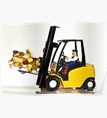 Fork lift and drugs Poster