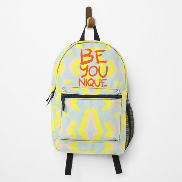 Be-You-Nique #redbubble #motivational Backpack