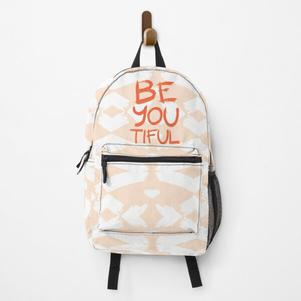 Be-You-Tiful #redbubble #motivational Backpack