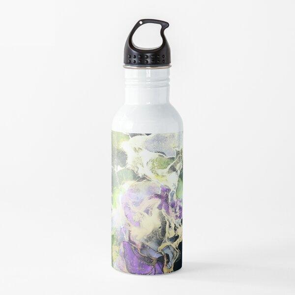 Grün lila Trinkflasche