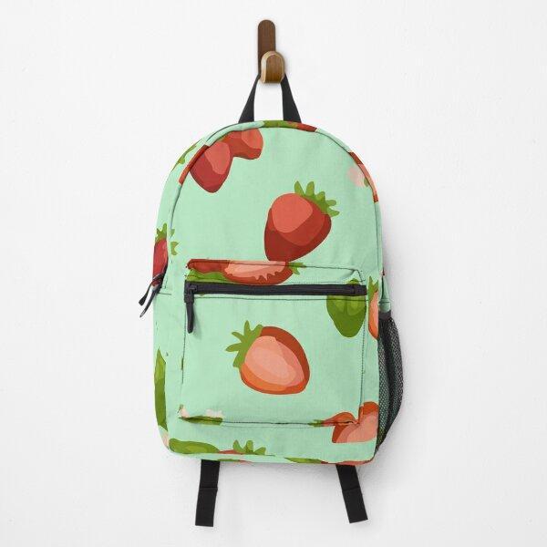 Seamless orange rainbow illustration Backpack