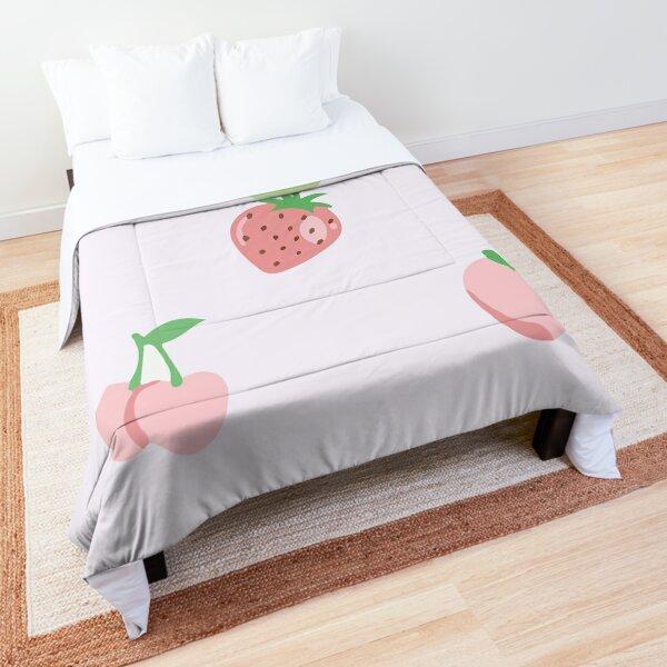 Seamless pattern fruit Comforter
