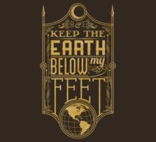 Mumford Typography (earth)(gold) | Unisex T-Shirt