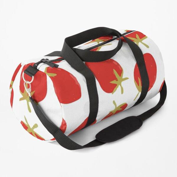 Seamless pattern of yellow lemon Duffle Bag