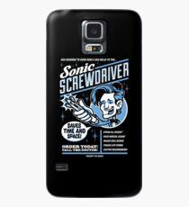 Sonic Screwdriver Ad Hülle & Klebefolie für Samsung Galaxy