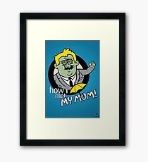 Regular Bro Framed Print