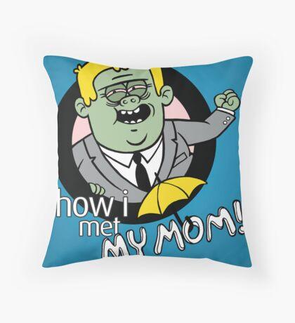 Regular Bro Throw Pillow