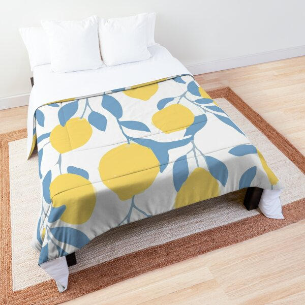 Seamless pattern with rome fruits Comforter