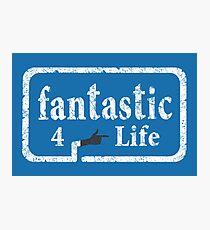 Fantastic 4 Life Photographic Print