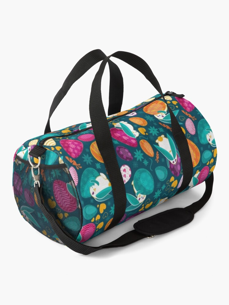 Alternate view of Busy Easter Bunnies 1 Duffle Bag