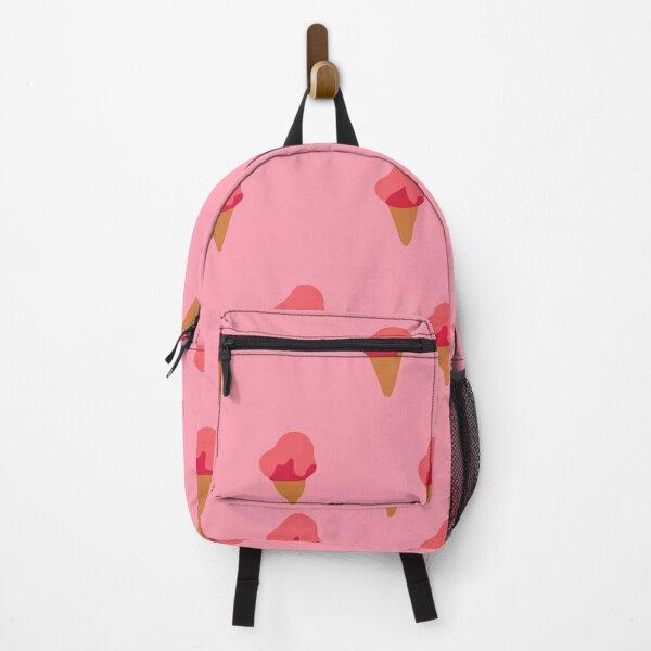 Seamless watermelon pattern on stripe Backpack