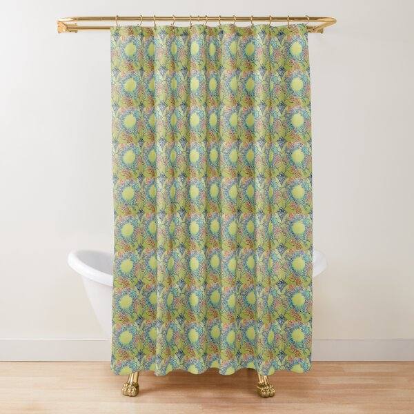 SEA FAN SUNSHINE AND MAGIC Shower Curtain