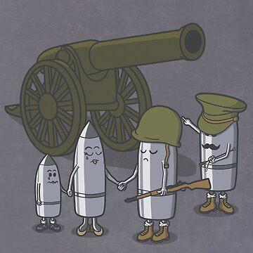 Cannon fodder. by jcmaziu