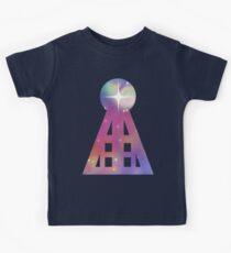 Triangular Nebula Kids Tee