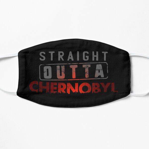 Straight Outta Chernobyl Nuclear Tragedy Flat Mask