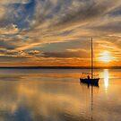 Central Coast Sunset  9-3-13. by Warren  Patten