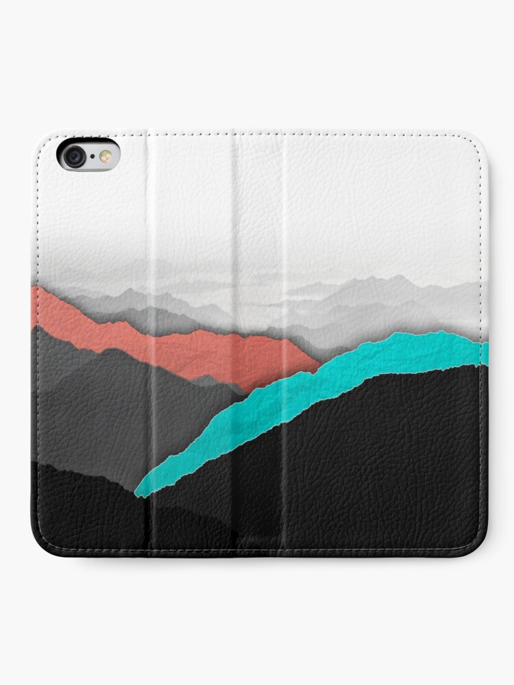 Alternate view of Mountain Highlights iPhone Wallet