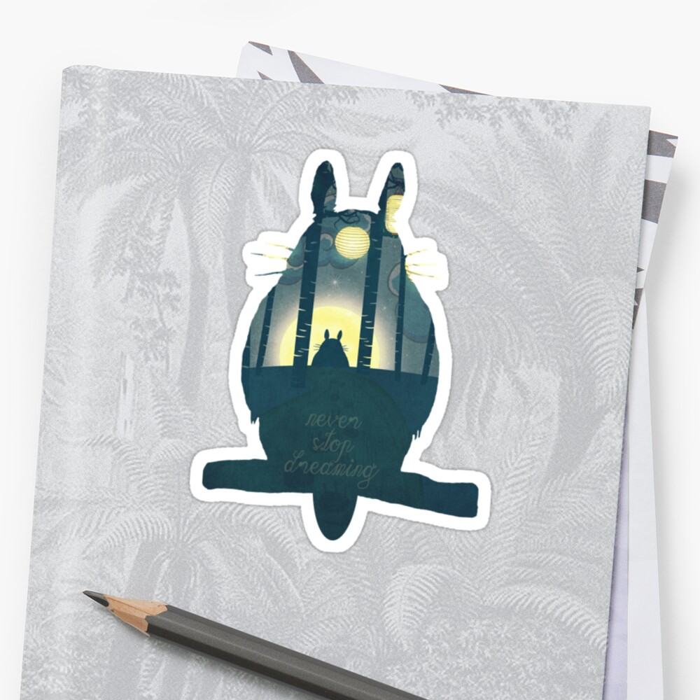 Totoro ' s Dream by Paula Belle Flores