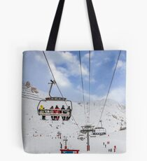 Ski Lift  Tote Bag