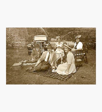 Vintage Picnic Photographic Print