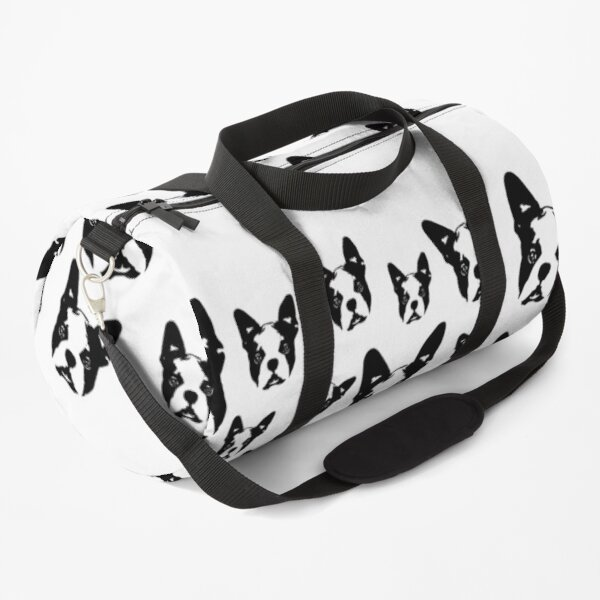 BOSTON TERRIER DOG GIFTS FROM MONOFACES FOR YOU IN 2020 Duffle Bag