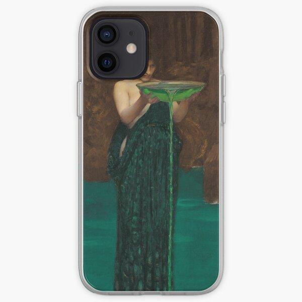 Circe invidiosa  Waterhouse Pre-Raphaelite iPhone Soft Case