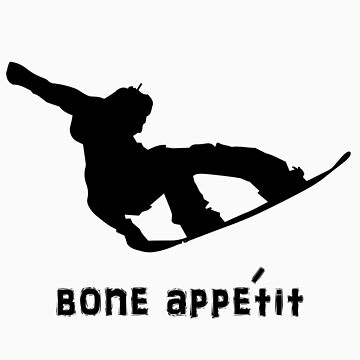 Snowboarder Boned Tail Grab by MikeBJ