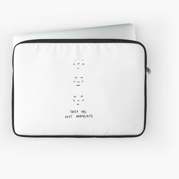 they are just moments Laptop Sleeve