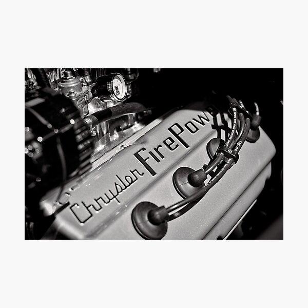 Chrysler Fire Power Photographic Print