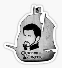 Crocodile Hunter Sticker