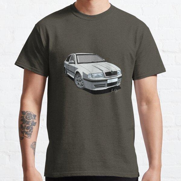 Skoda Octavia vRS Mk1 (RS) Diamond Silver Classic T-Shirt