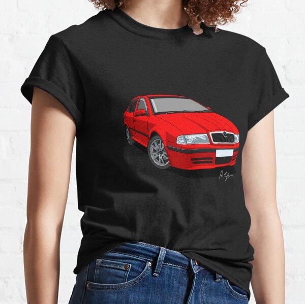 Skoda Octavia vRS Mk1 (RS) Corrida Red Classic T-Shirt