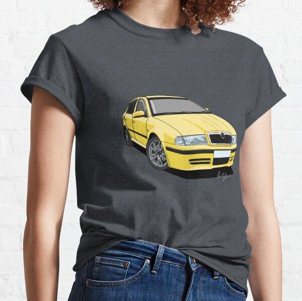Skoda Octavia vRS Mk1 (RS) Lemon Yellow Classic T-Shirt