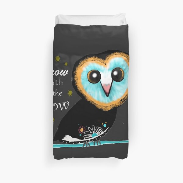 Grow with the Flow  Duvet Cover