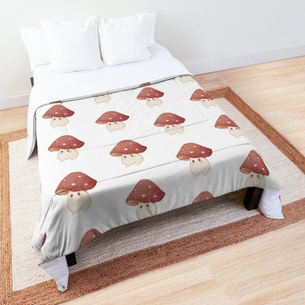 Friendly mushroom  Comforter