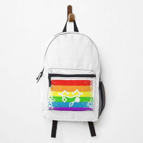 Friends of Mara heart of etheria failsafe first ones writing symbol on ripped pride flag Backpack