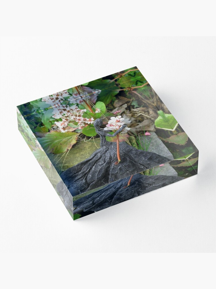 Alternate view of Springtime Composition III Acrylic Block