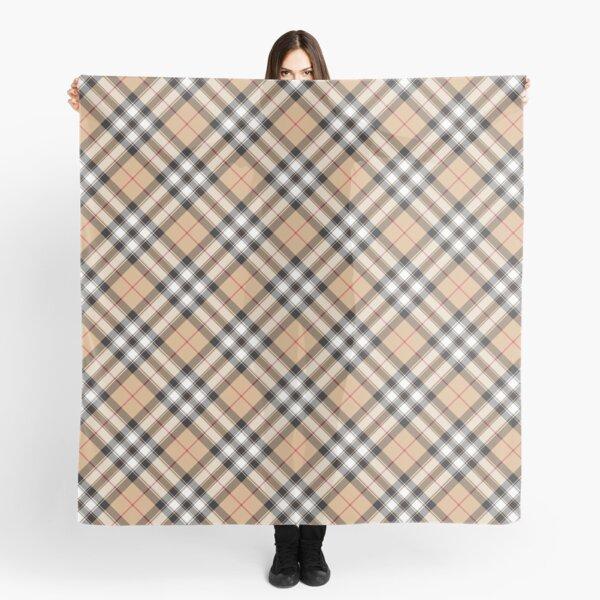 Pride of scotland gold tartan fabric textile Scarf