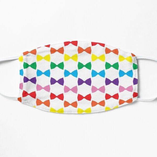 Rainbow Bow Ties Mask