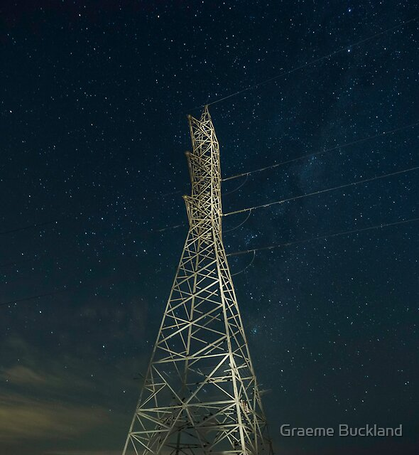 Starrry Night - Geelong Victoria by Graeme Buckland