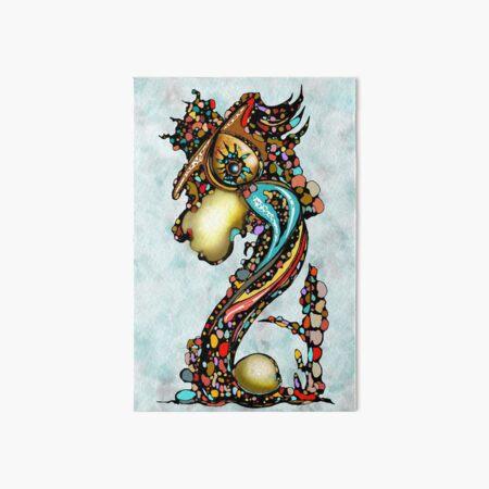 Dragon King Art Board Print