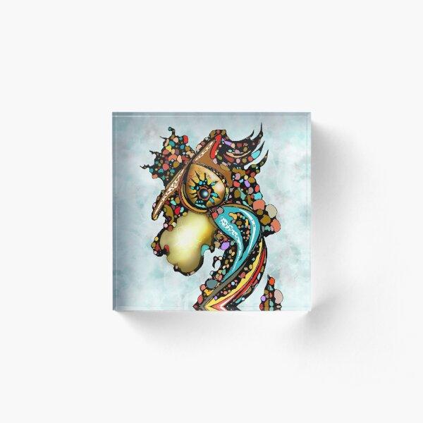 Dragon King Acrylic Block