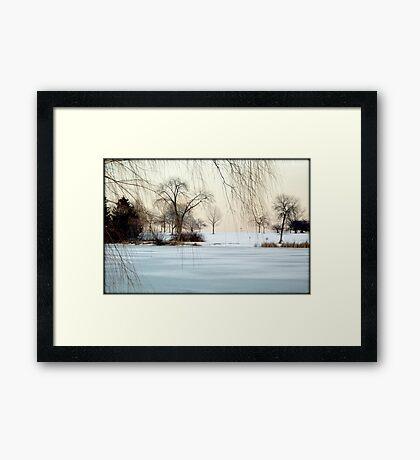 Winter © Framed Print