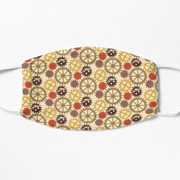 Steampunk Cogs Flat Mask
