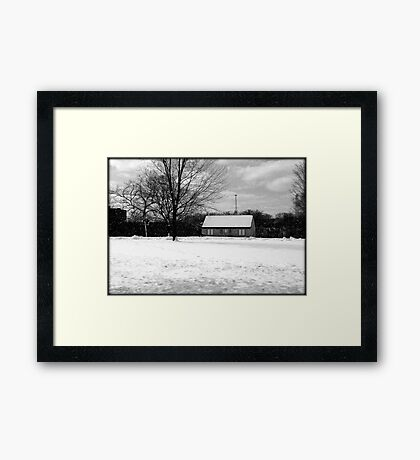 Passing by © Framed Print