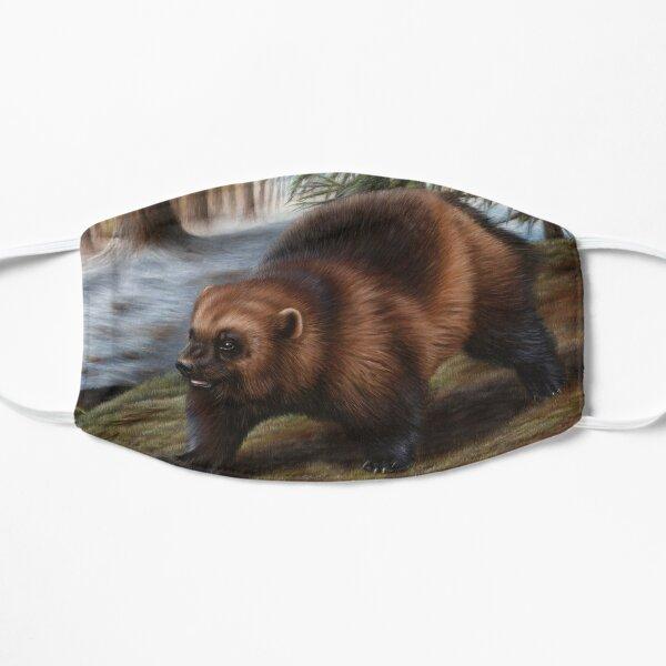 Wolverine Wildlife Artwork Mask